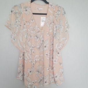 Nordstrom rack DR2 blouse nwt
